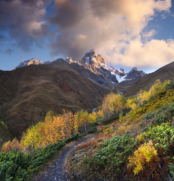The Caucasus Mountains: These 1,100 km long high mountains do count as the most likely birthplace of the Kefir grains.